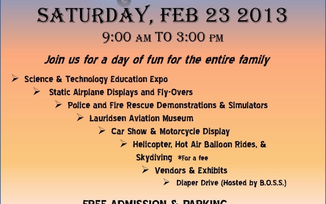 Buckeye Air Fair – 2nd annual SciTech Education Expo